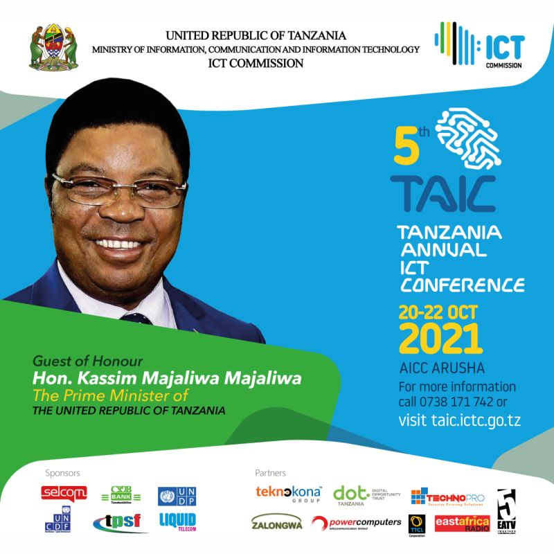 Upcoming Events in Tanzania - The Tanzania Annual ICT Conference 2021 ( October 20 - 22 2021 )