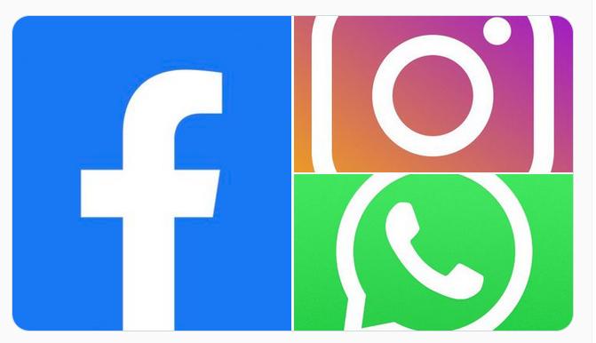 Facebook, Instagram and WhatsApp Down