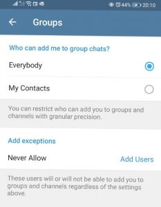 How to Download Telegram &  Avoid Getting Added to Random Groups